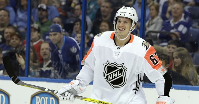 Rakell, Boeser lead Pacific Division to NHL All-Star win