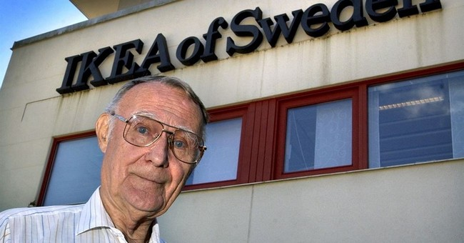 Ingvar Kamprad, who founded furniture giant IKEA, dies at 91