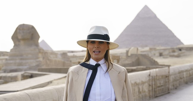 Melania Trump: Talk about my actions, not my fashion