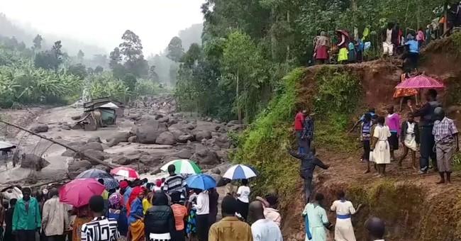 At least 34 die in Uganda mudslides triggered by heavy rains