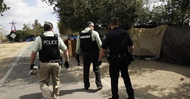 Lawsuit seeks to stop big California homeless camp shutdown