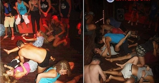 Foreigners deny making pornographic Cambodian party photos