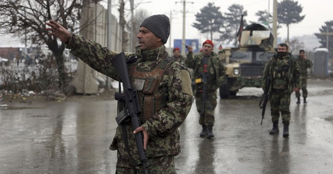 The Latest: IS attacks Afghan military academy, killing 11