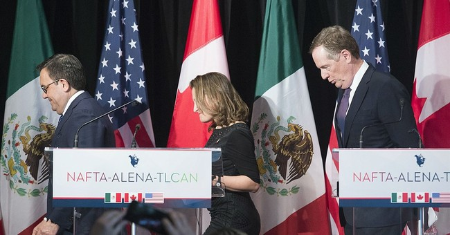 US says NAFTA talks are progressing very slowly