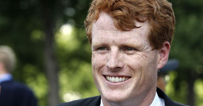 No, that wasn't drool on his lips, Rep. Joe Kennedy says