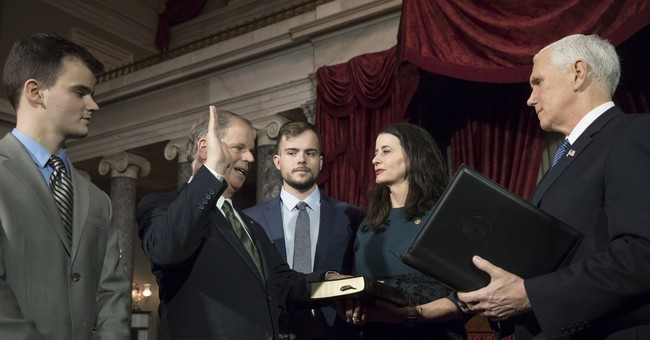 GOP's Senate majority shrinks with Jones sworn into office
