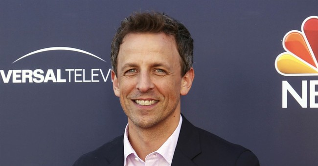 Seth Meyers ready to be celebratory and serious at Globes