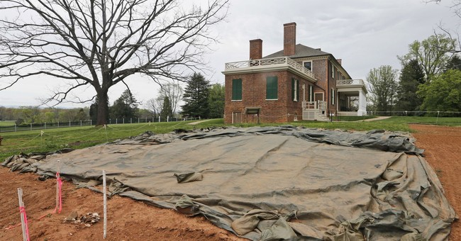 Search for buried slaves at James Madison's Montpelier