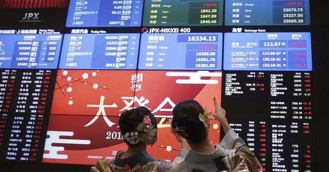 Global stocks rise on strong European, Chinese data