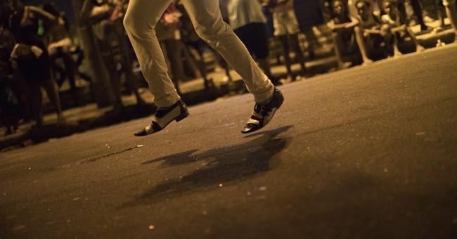 AP PHOTOS: Brazil samba school argues slavery still exists
