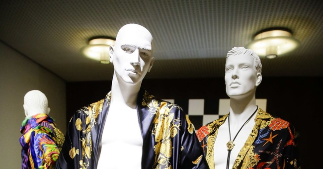 Gianni Versace's creations brought together for Berlin show