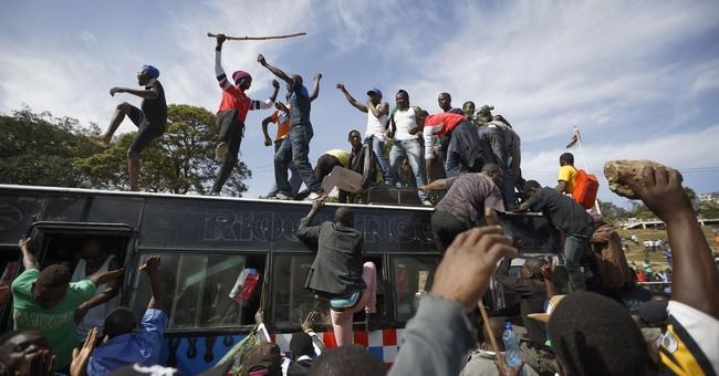 Kenyan opposition leader 'sworn in' as event called treason