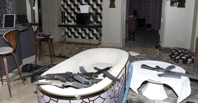 Latest: Police mum on armor-piercing ammo in Vegas shooting
