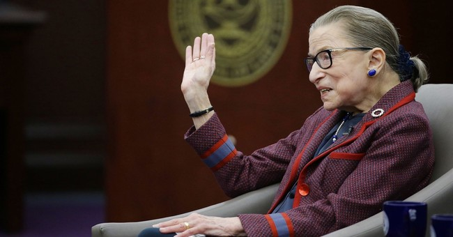 Ruth Bader Ginsburg's great fear: Courts viewed as partisan