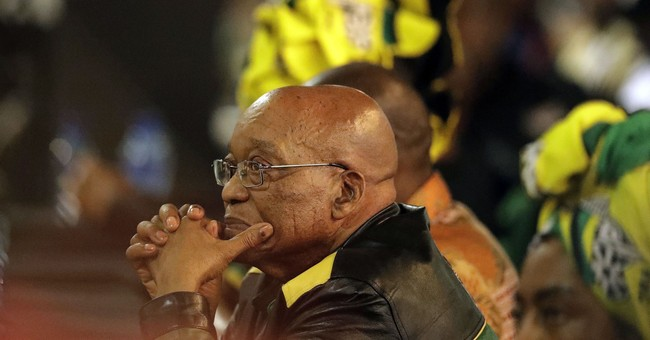 South Africa's president-in-waiting talks tough on graft