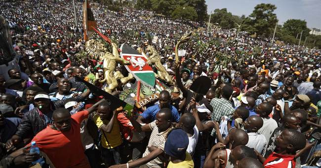 The Latest: Kenya names opposition movement a criminal group