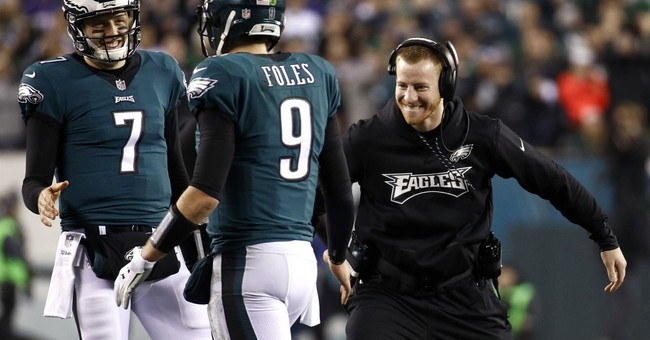 Carson Wentz goes from MVP contender to cheerleader