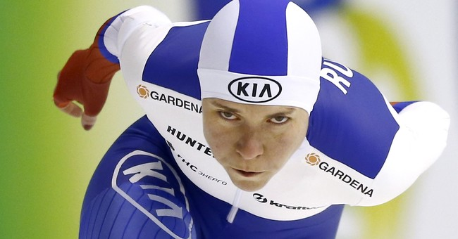 Russian speedskater refuses IOC invitation to Olympics
