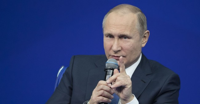 The Latest: Mnuchin: Report will lead to Russia sanctions