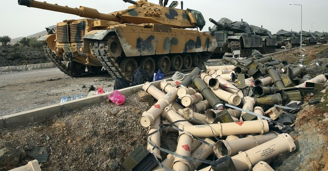 Syria's Kurds push US to stop Turkish assault on key enclave