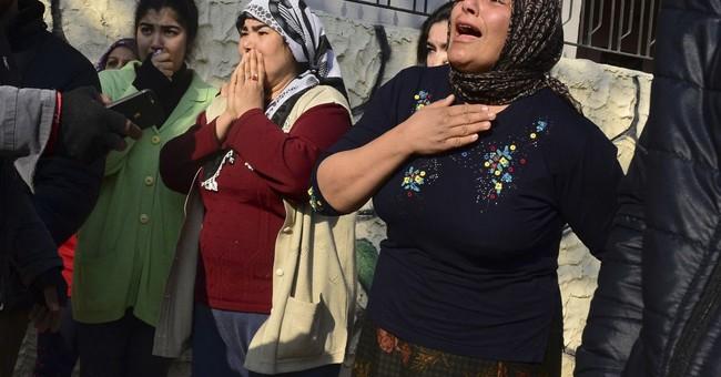 Turkey-backed forces push into Syrian Kurdish enclave