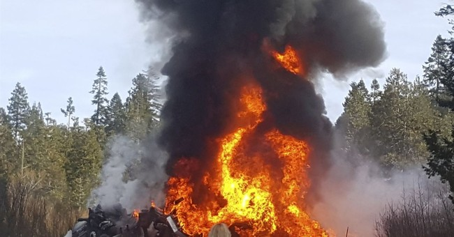 Fuel tanker truck shoots up flames in crash that kills 2