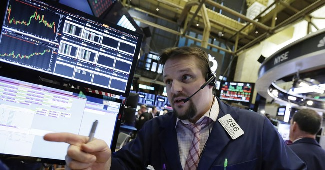 After a stumble, US stocks finish slightly higher