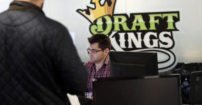 DraftKings sees opening with legal sports betting on horizon