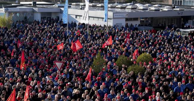Ford workers, others, on strike in German wage dispute