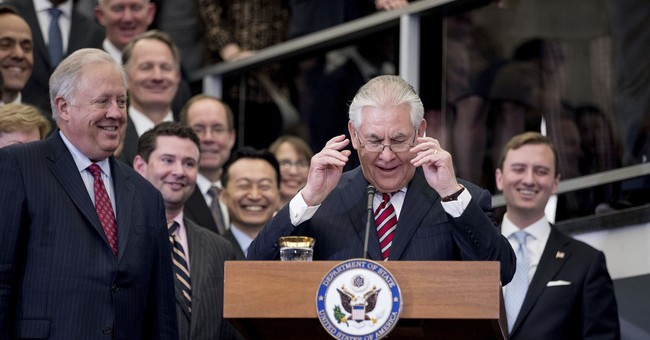 State Department loses top career diplomat as crises abound