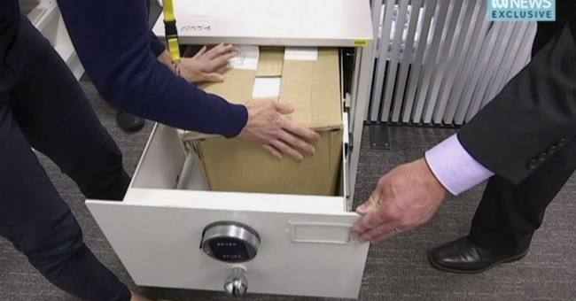 Australia secret service secures mislaid classified papers