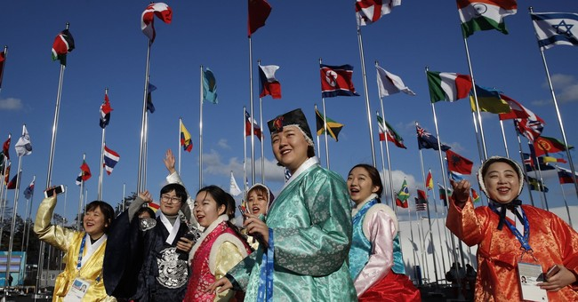 North Korean athletes arrive in South Korea for Olympics