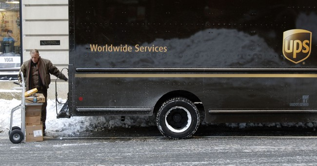 UPS posts $1.1 billion profit for 4Q on high online shopping