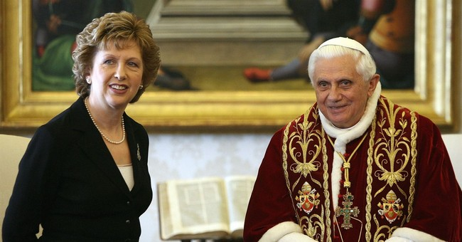 Vatican nixes former Irish president from Women's Day event
