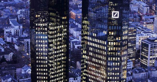 Tax issue pushes Deutsche Bank to third straight annual loss