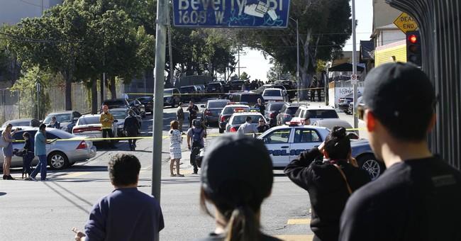 Prosecutors: Gun went off in girl's backpack at LA school