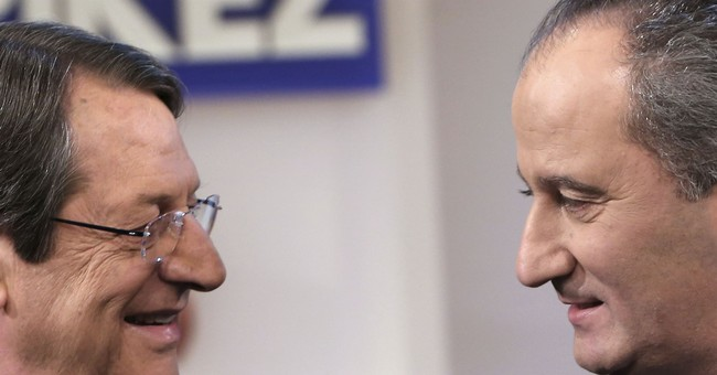 Incumbent, leftist in Cyprus presidential election rematch