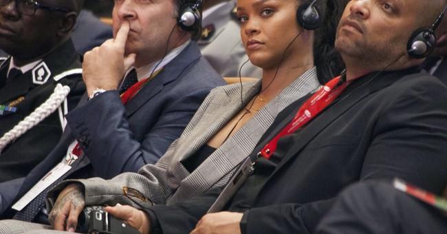 Rihanna, Macron champion millions for global education