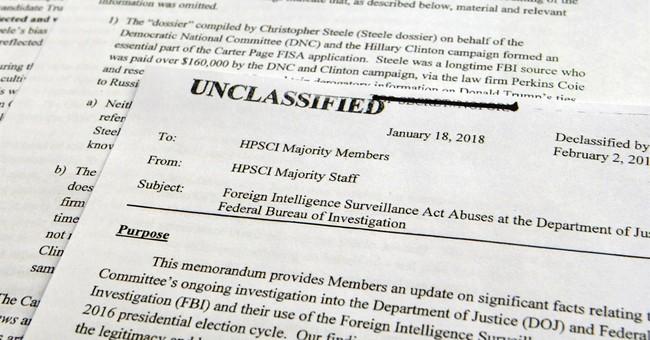 On Trump's desk: Dems' classified memo on Russia probe