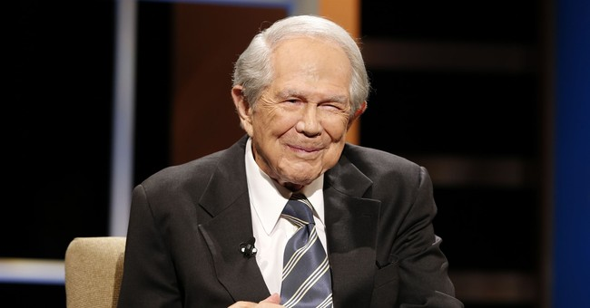 Pat Robertson is recovering after suffering a stroke
