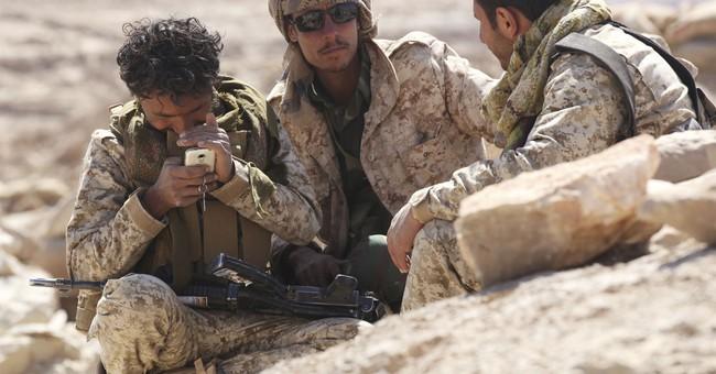 Outside Yemen's rebel-held capital, stalemated war rages on