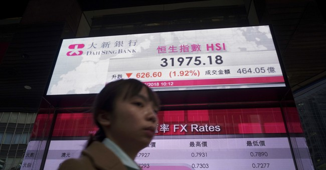 Asian shares extend global losses after Wall Street's rout