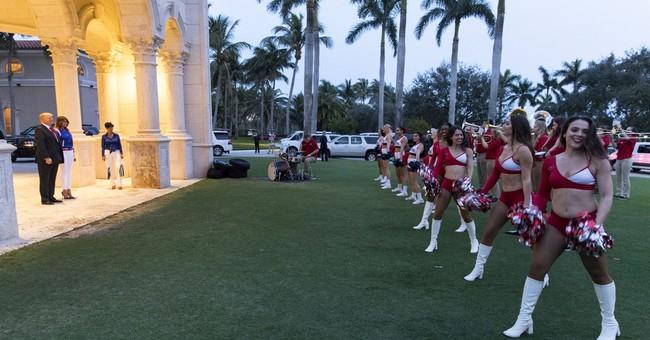 Trump: Service members make Super Bowl Sunday possible