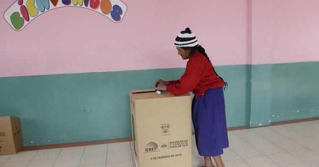 Current, former presidents at odds in Ecuador referendum