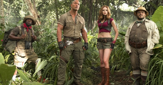 'Jumanji' reboot reigns again at the box office