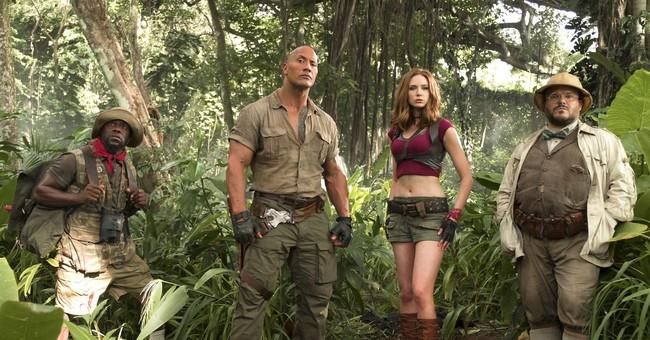'Jumanji' reboot reigns again at the box office