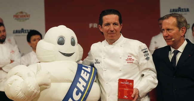 A record 28 French restaurants get prized Michelin 3-stars