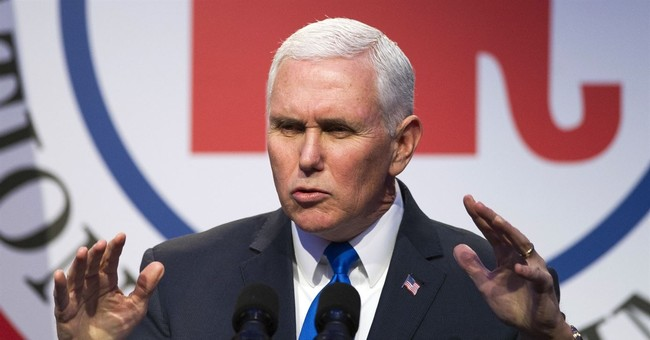The Latest: Pence doesn't rule out meeting NKorean officials