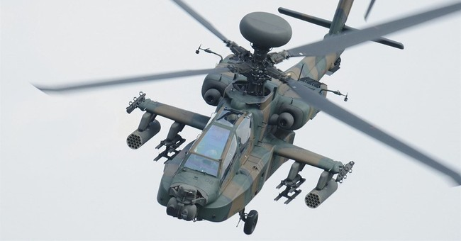 Japanese combat helicopter crashes in southern Japan