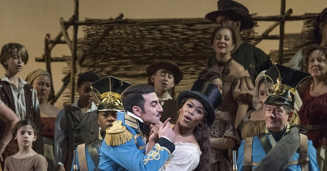 Young baritone makes promising 'Elixir' debut